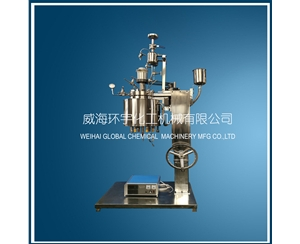 5L Lifting Reactor with Feeding Tank