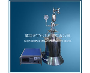 Lab High Pressure Reactor with Feeding Tank