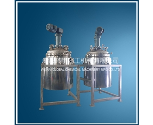 750L Stainless Steel Reactor with Horizontal Reactor