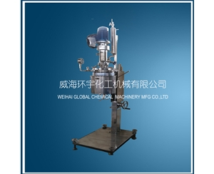 Lab High Pressure Reactor with Vertical Condenser