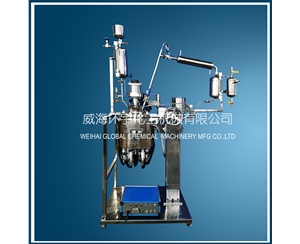 5L Vacuum Distillation Reactor with Lifting Device